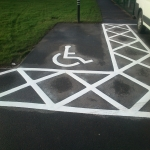 Car Park Line Markings in Abertysswg 3