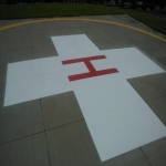 Car Park Line Markings in Almondbank 11