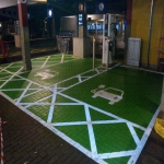 Playground Flooring Coloured Painting in Aberaman 1