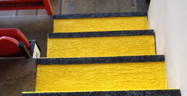 Anti-Slip Step Paint in Larne