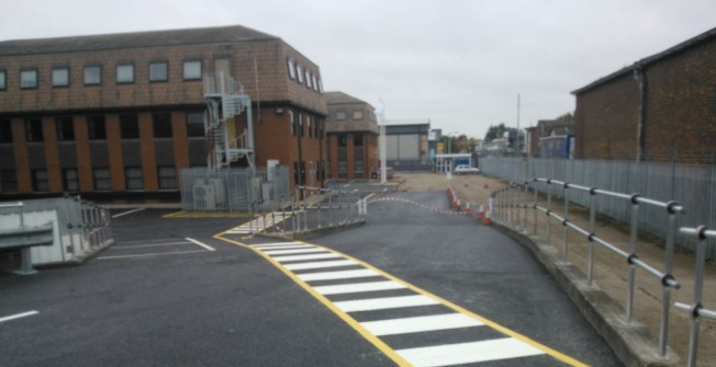 Anti-Slip Pathway Paint in Abberton