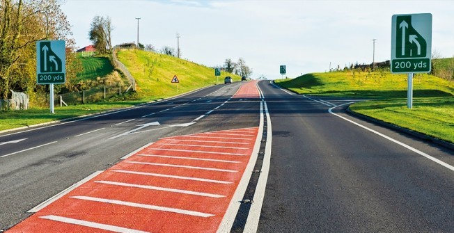 High Friction Road Surfacing in West Midlands